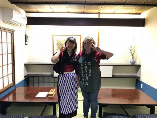 Wanko soba noodle in Iwate