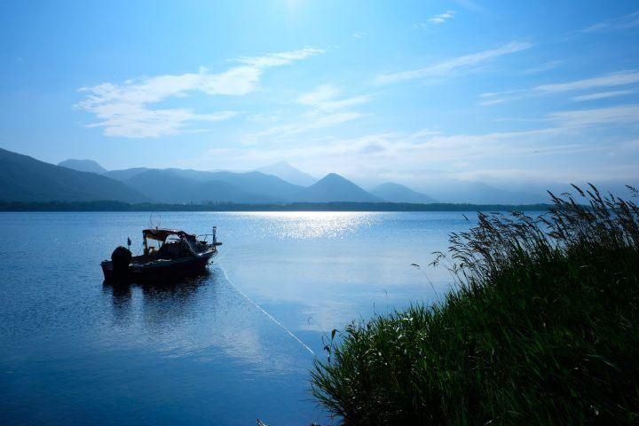 Lake Kussharo, Hokkaido in summer