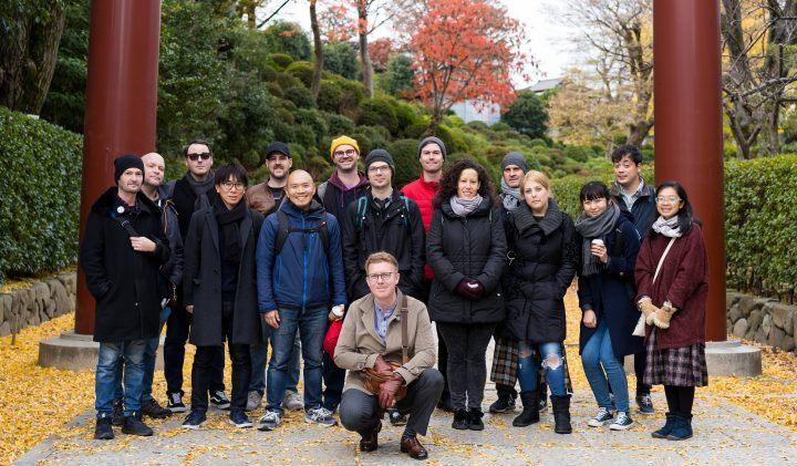 Tour leader team - Inside Circle, Tokyo