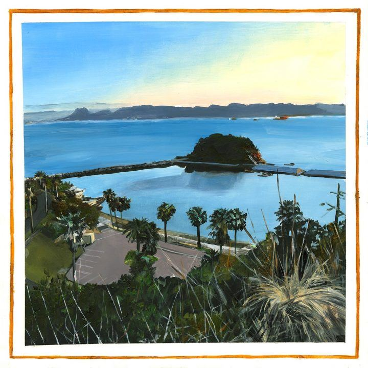 Paintings of Japan: Alice Tye, Mono No Aware series - Naoshima