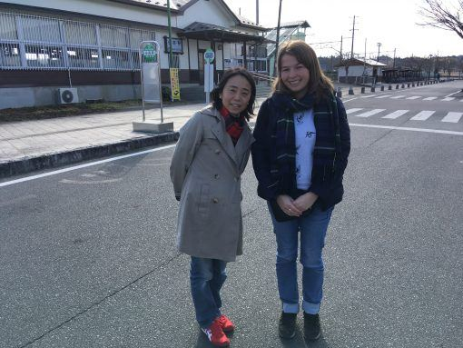 Ruth and Karin in the Fukushima Nuclear exclusion zone