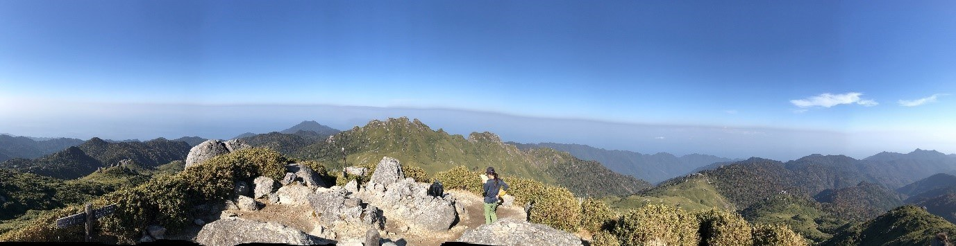 Miyanouradake summit, Yakushima, Japan