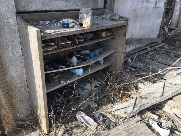 Namie deserted home Fukushima