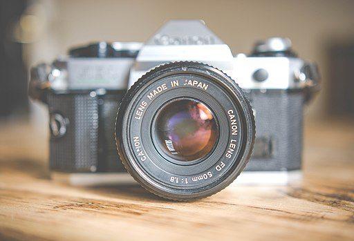 Vintage Canon camera Japan