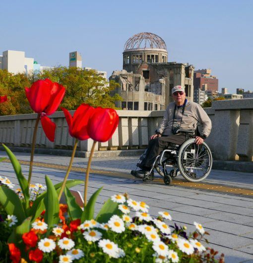 Wheelchair travel in Japan - Peter & Suzy Hengstberger