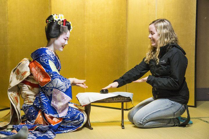 Geisha games, Kyoto