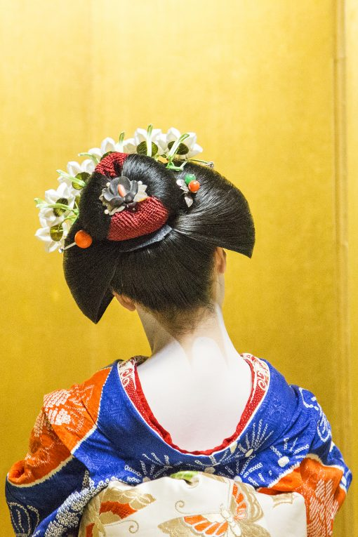 Geisha hair, Kyoto