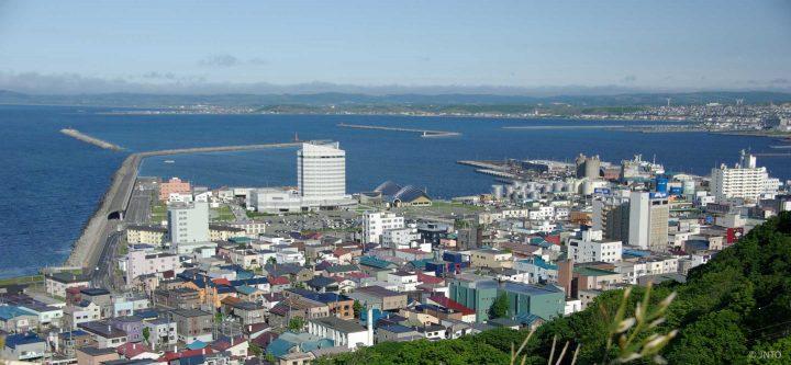wakkanai port, Hokkaido, Japan