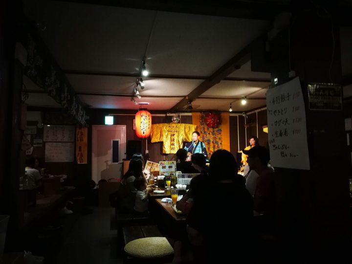 Chanpuru live, izakaya in Okinawa