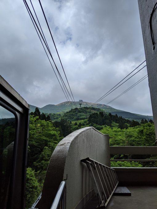 Hakone cable-car, Japan