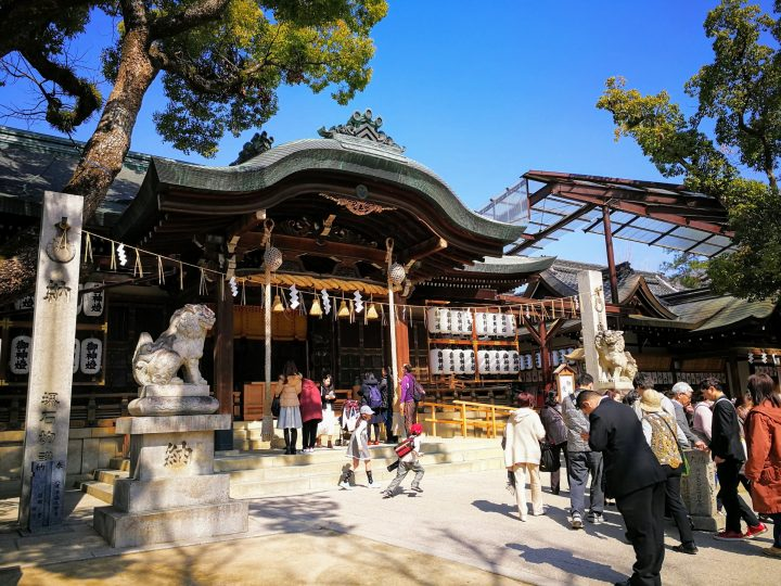 Ishikiri Tsurugiya Shrine, Osaka