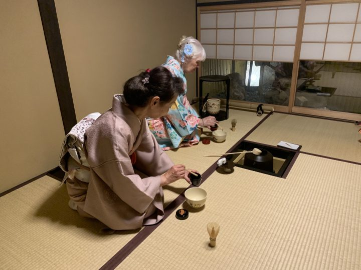 Tea ceremony experience, Japan