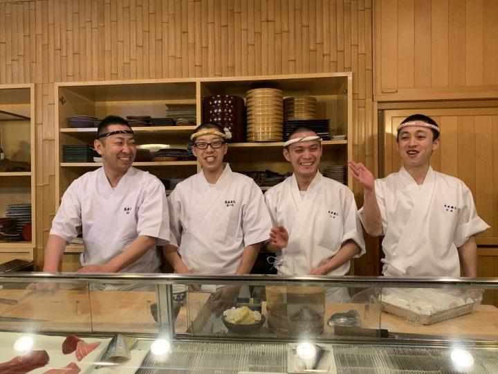 Taheizushi sushi restaurant in Kanazawa, Japan