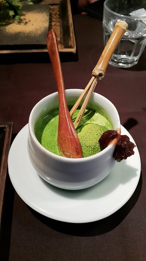 Japan Instagram coffee shop, Ten – Kyoto matcha tea