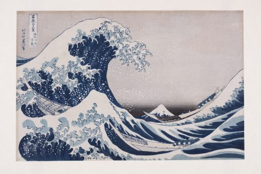 Hokusai, The Hollow of the Deep-Sea Wave off Kanagawa from the series Thirty-six views of Mount Fuji, 1831