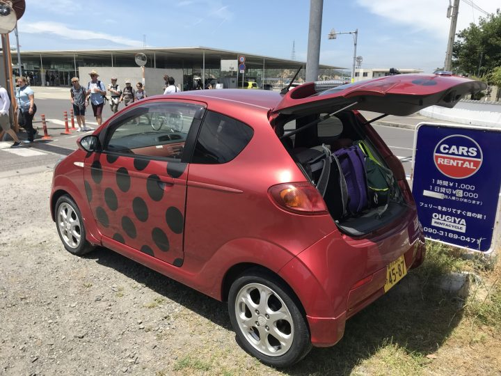 Setouchi Triennale car hire