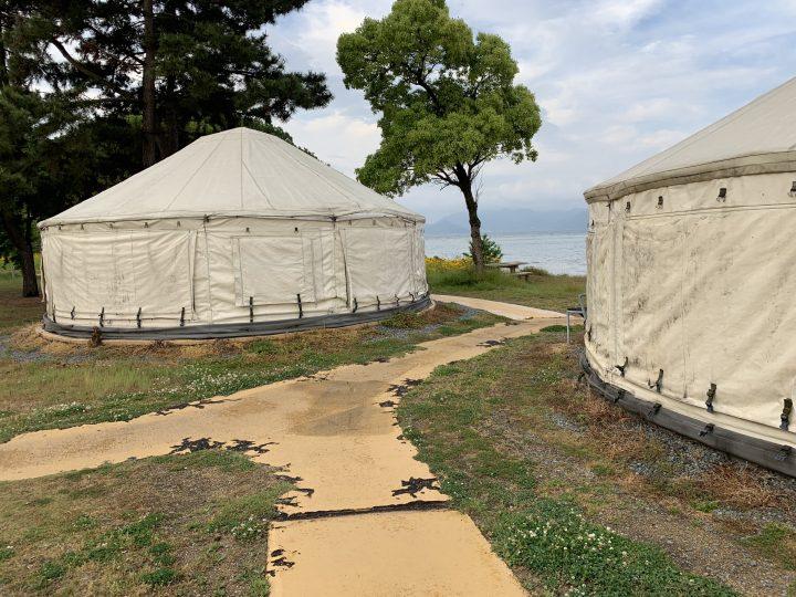 Tsutsujiso yurt, Naoshima island, Japan