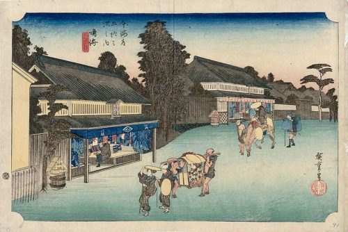 Narumi, as shown in Hiroshige's famous series