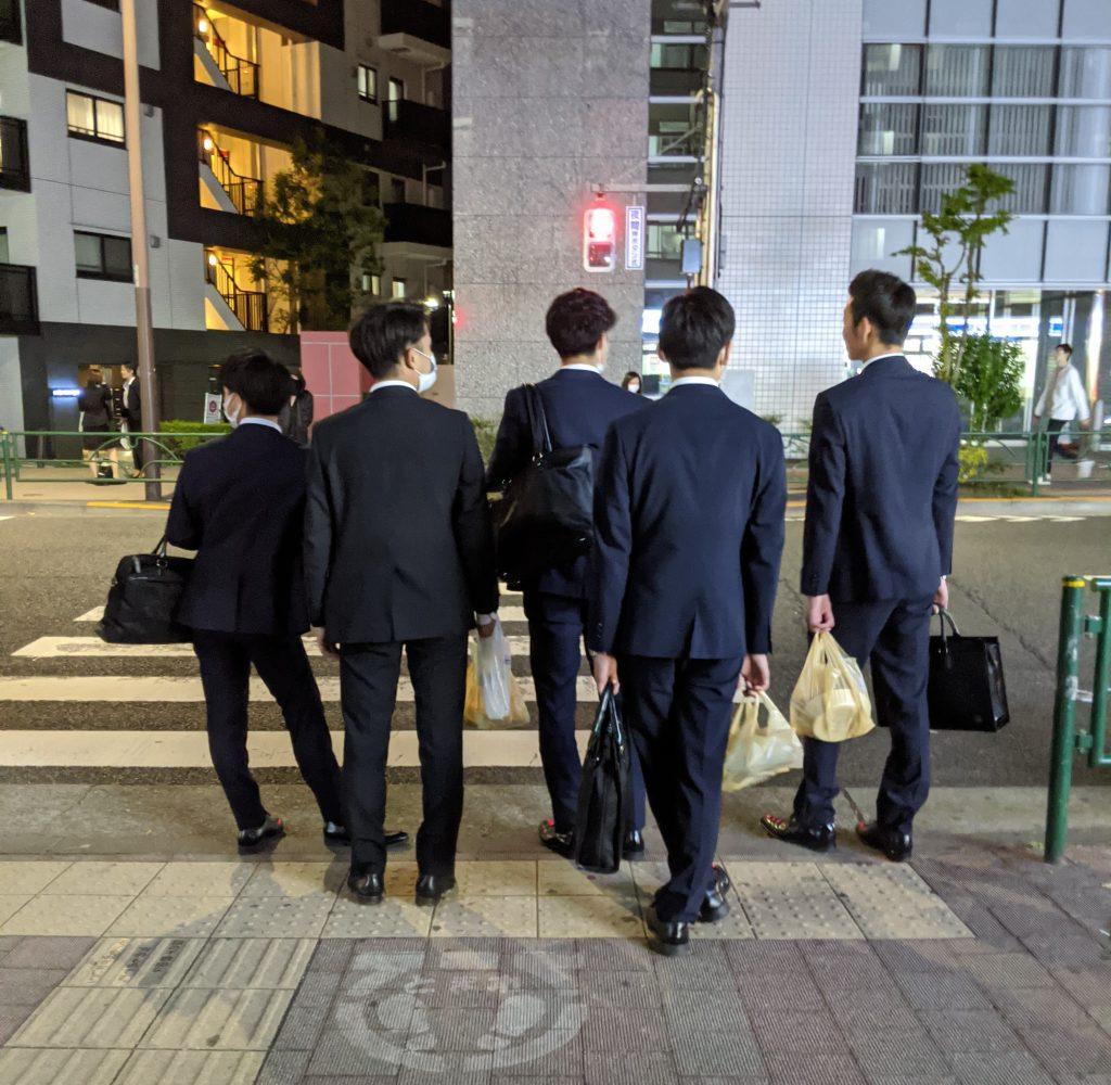 Salarymen in Tokyo