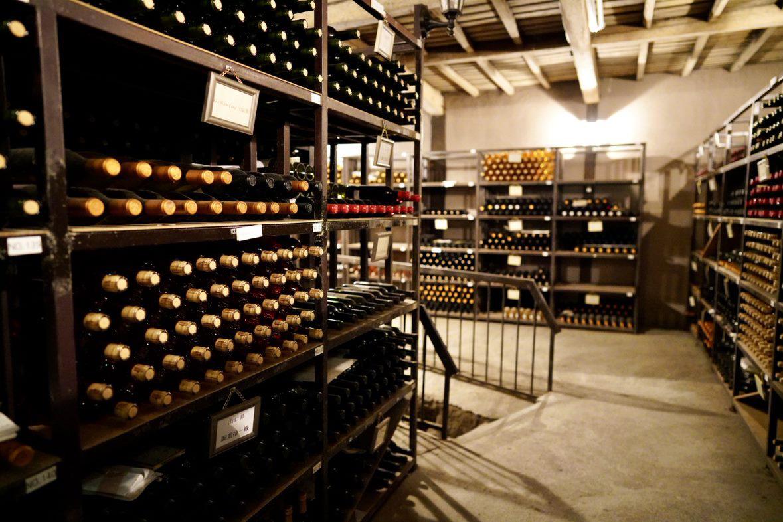 Japanese Kurambon wine cellar