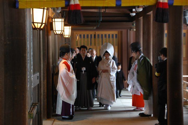 Shinto marriage blessing, InsideJapan