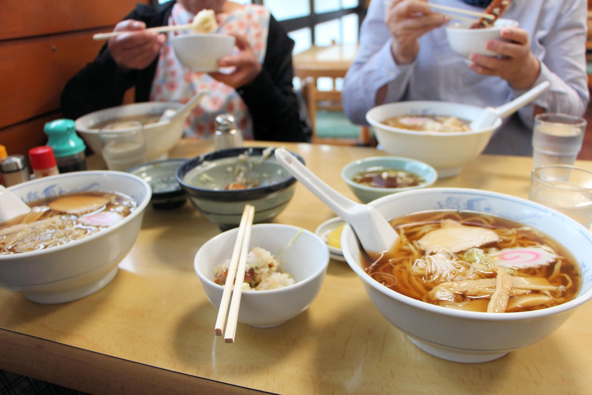 Aizu Ramen, a speciality dish of Aizu-Wakamatsu