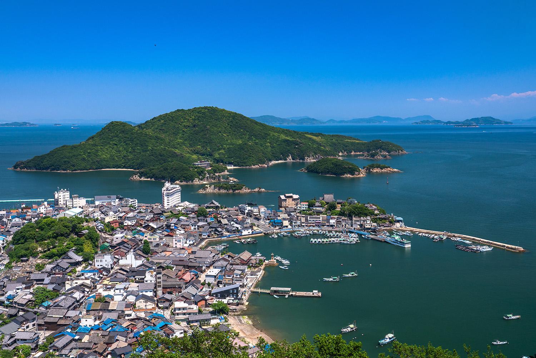 The fishing town of Tomonoura