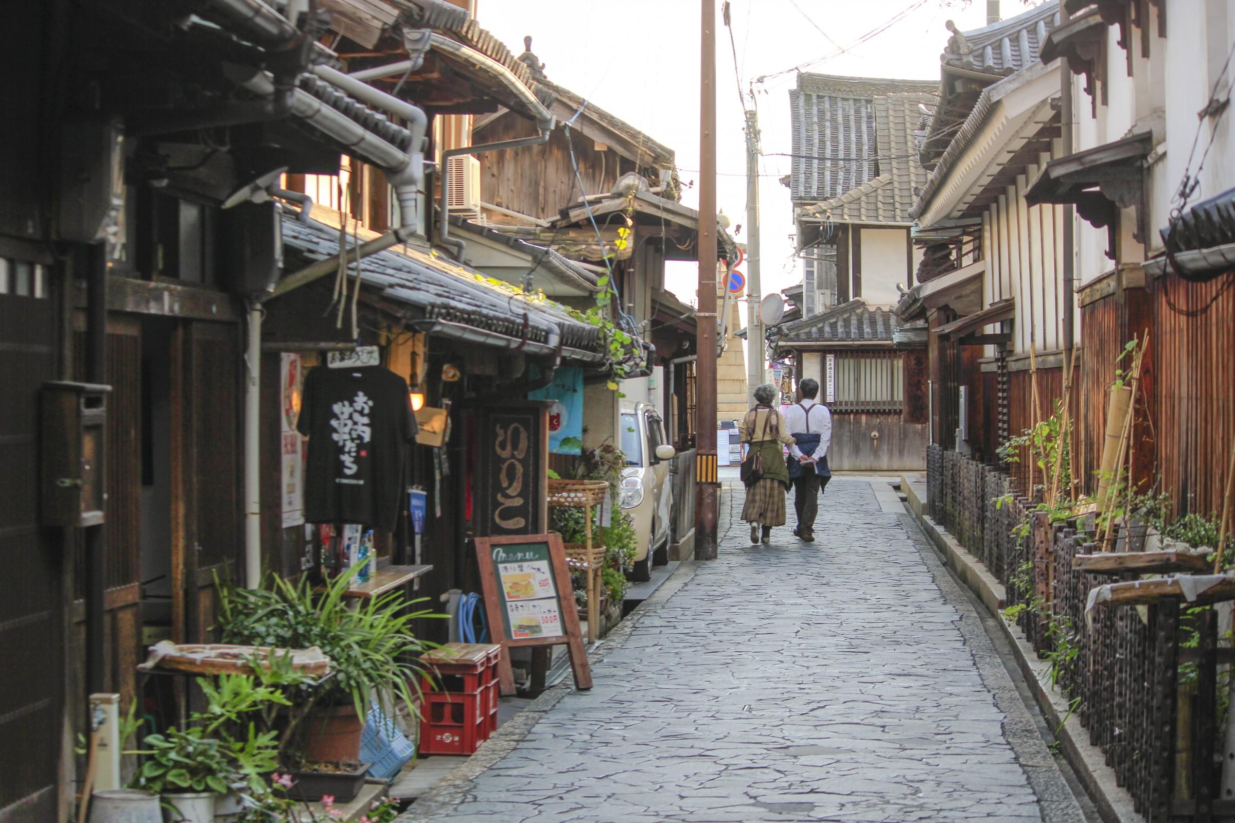 A street in Tomonoura