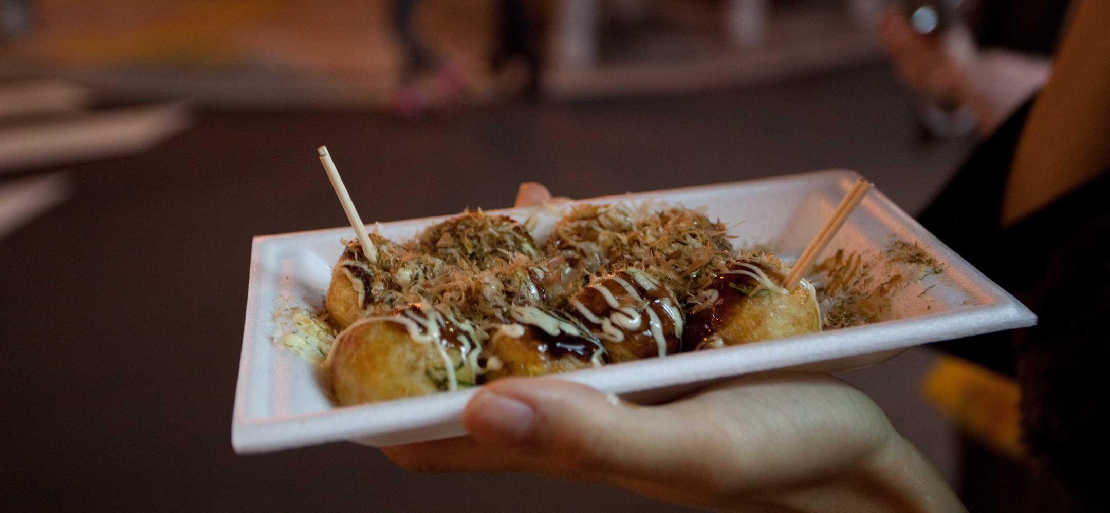 Street food in Osaka