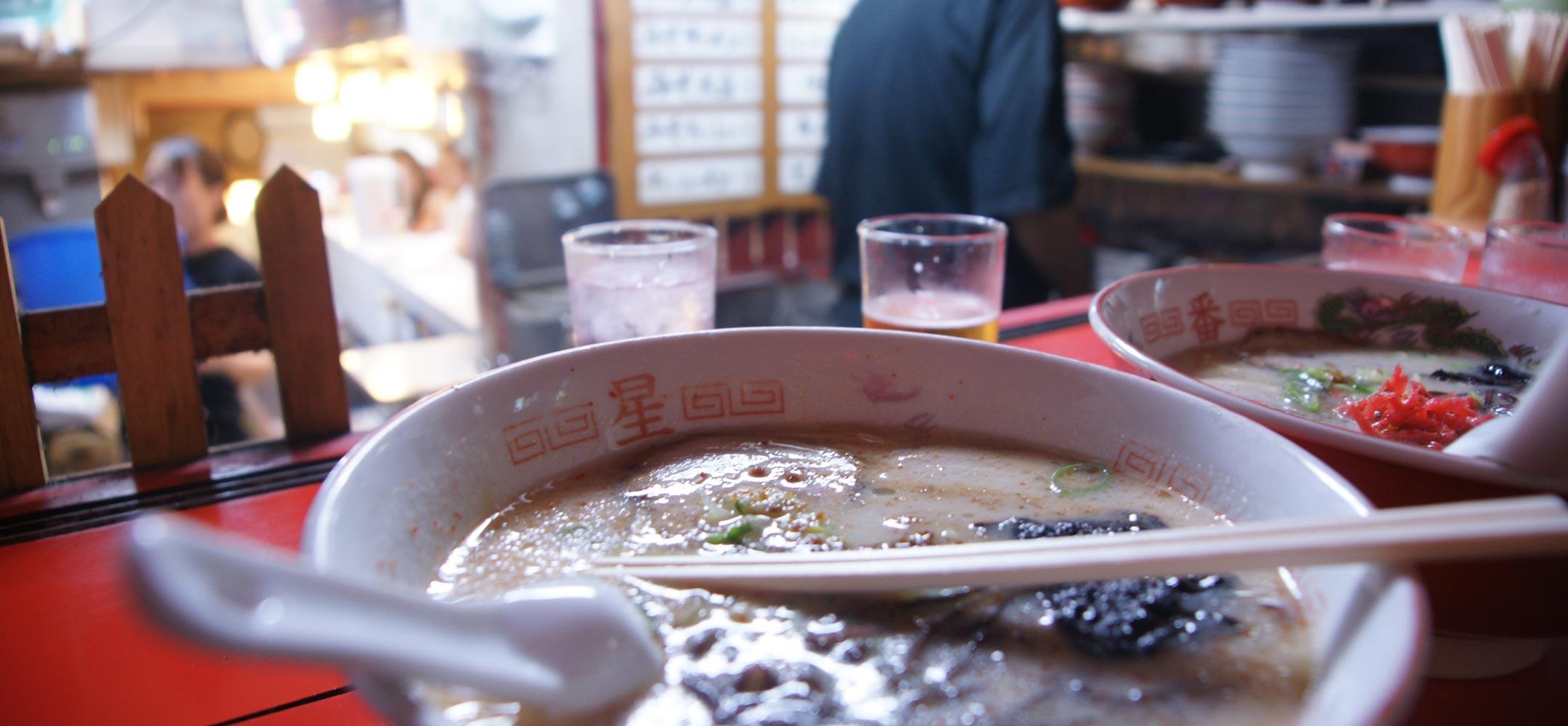 Ramen sampling in Tokyo