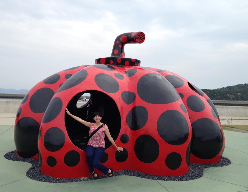 """Red Pumpkin"" by Yayoi Kusama"