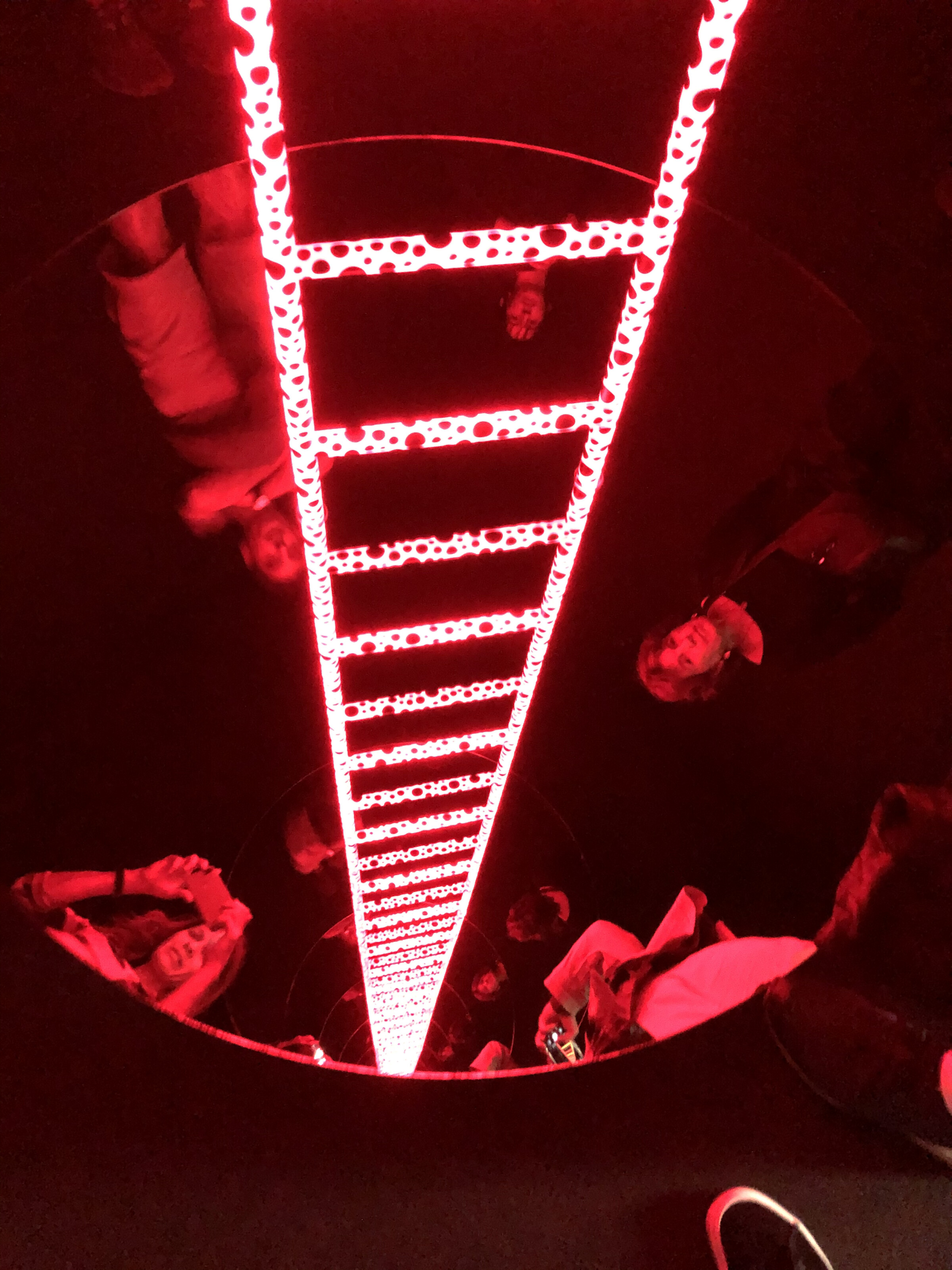 """""""Ladder to Heaven"""" at the Kusama Yayoi Museum in Tokyo"""