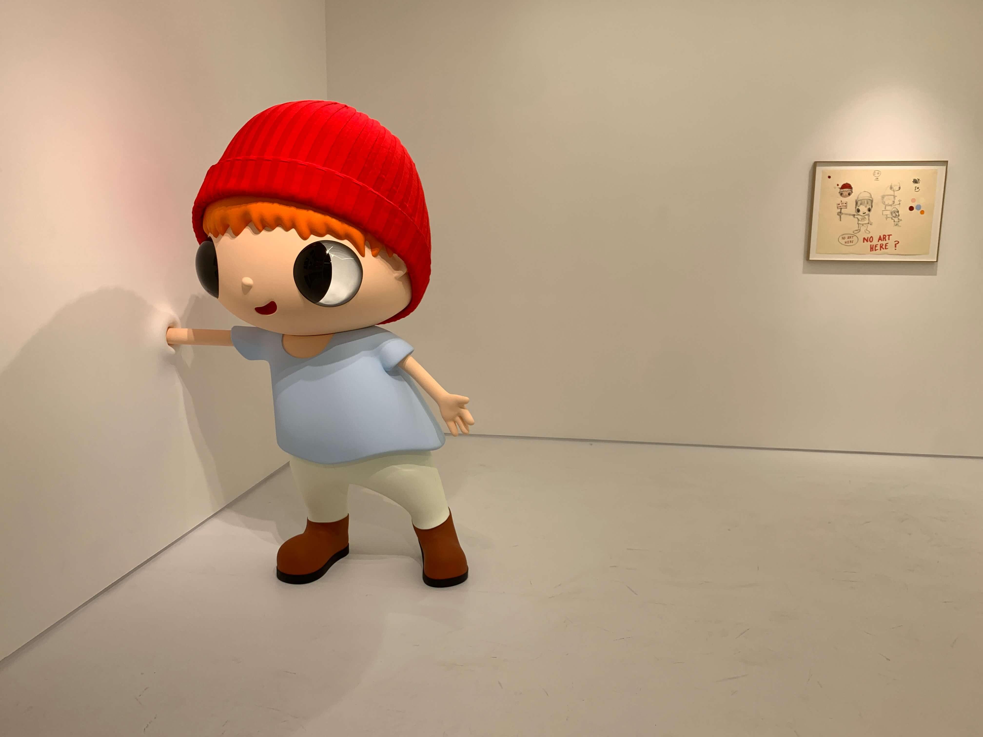 Javier Calleja exhibit at Parco Shibuya