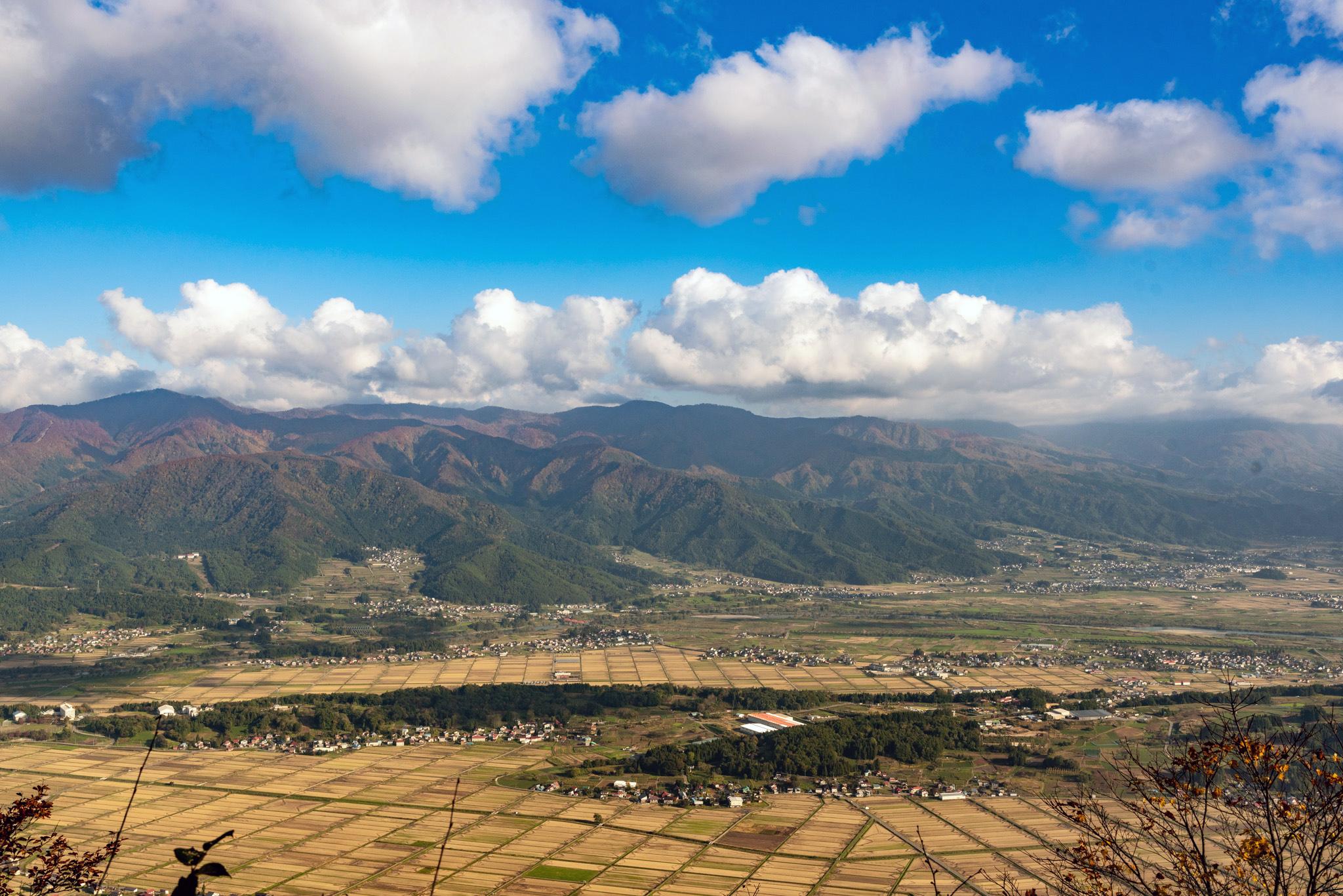 Incredible views along the Shin-Etsu Trail